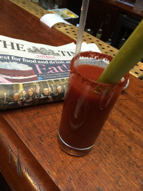 The Foxlow Chipotle Bloody Mary