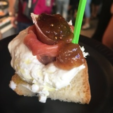 Burrata w Jamon & fig jam